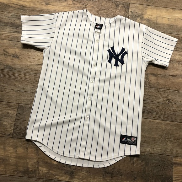huge selection of de8f5 b628a New York Yankees Nick Swisher Jersey Youth XL